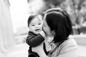 Singapore black and white family photographer